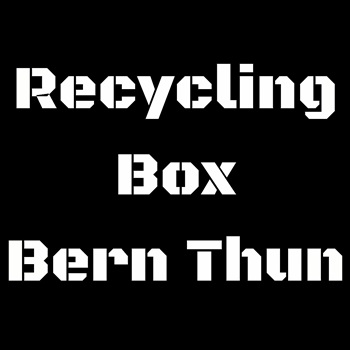 Recycling Box Bern Thun Recycling Pet, Recycling Glas,...